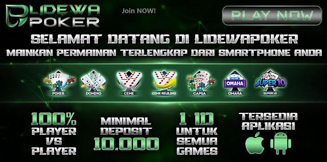 Agen Judi Online Poker Paling Bagus Winrate Mencapai 99%