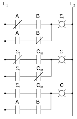 Ladder Diagram 3 Input Xor, Ladder, Free Engine Image For