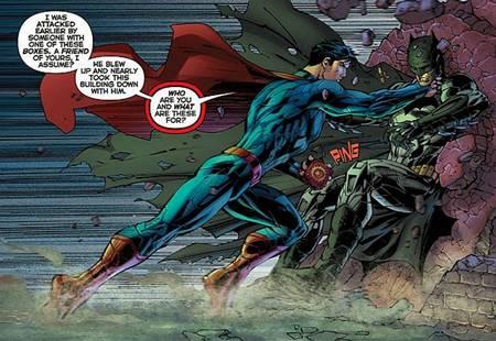 Batman se enfrenta a Superman en los Nuevos 52