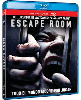 llegan las ediciones bluray de escape room
