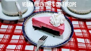 torta Valentino vegan recipe