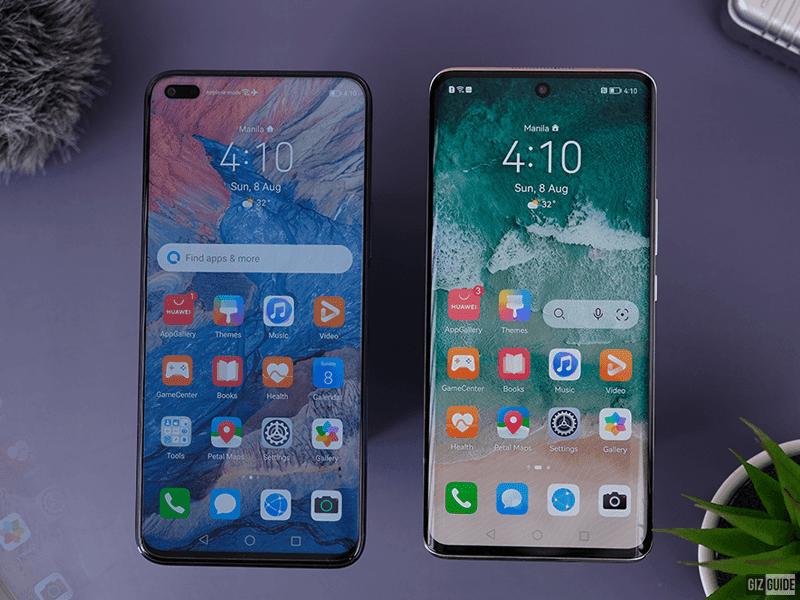The front design of nova 8i and nova 8