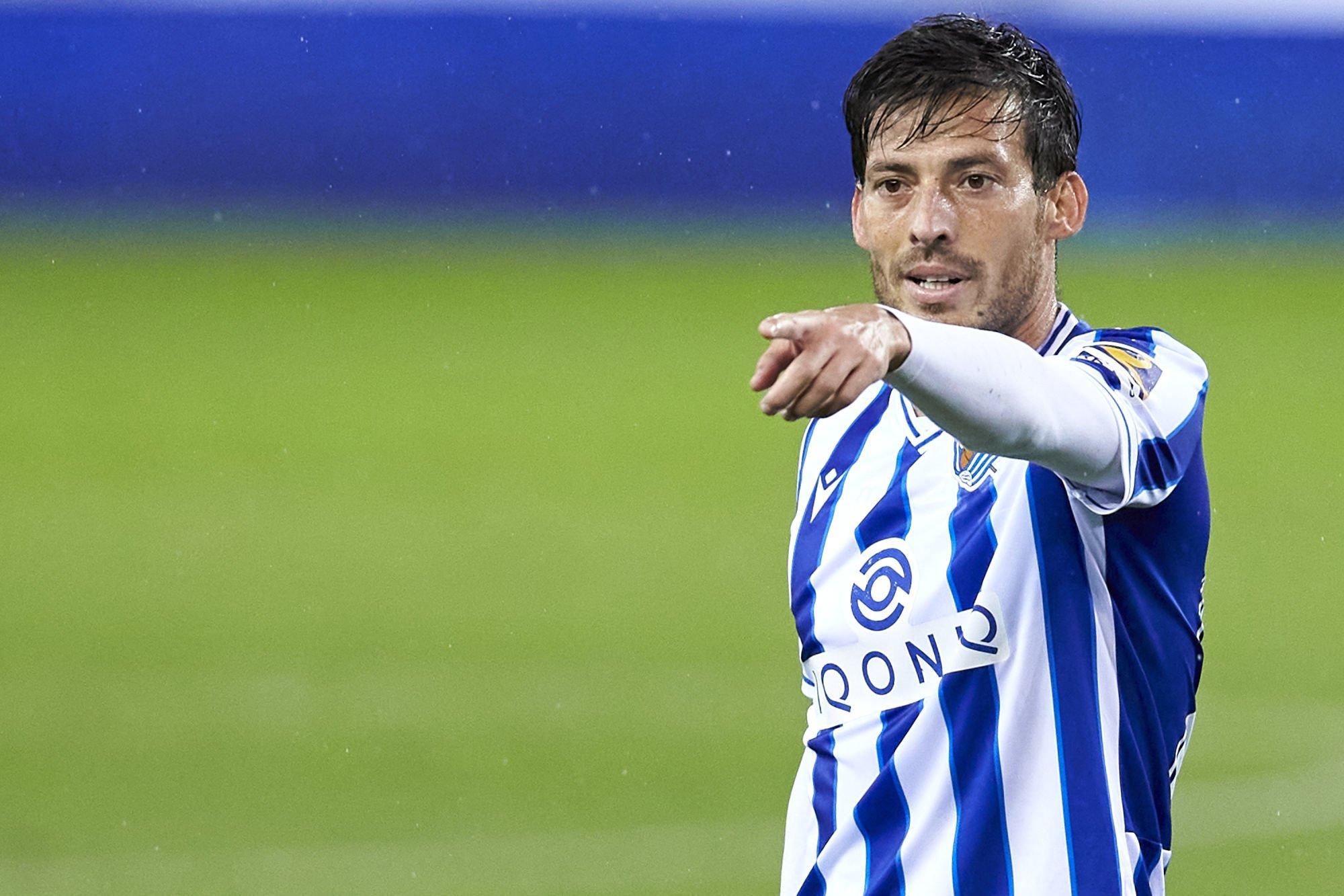 Real Sociedad's talisman David Silva