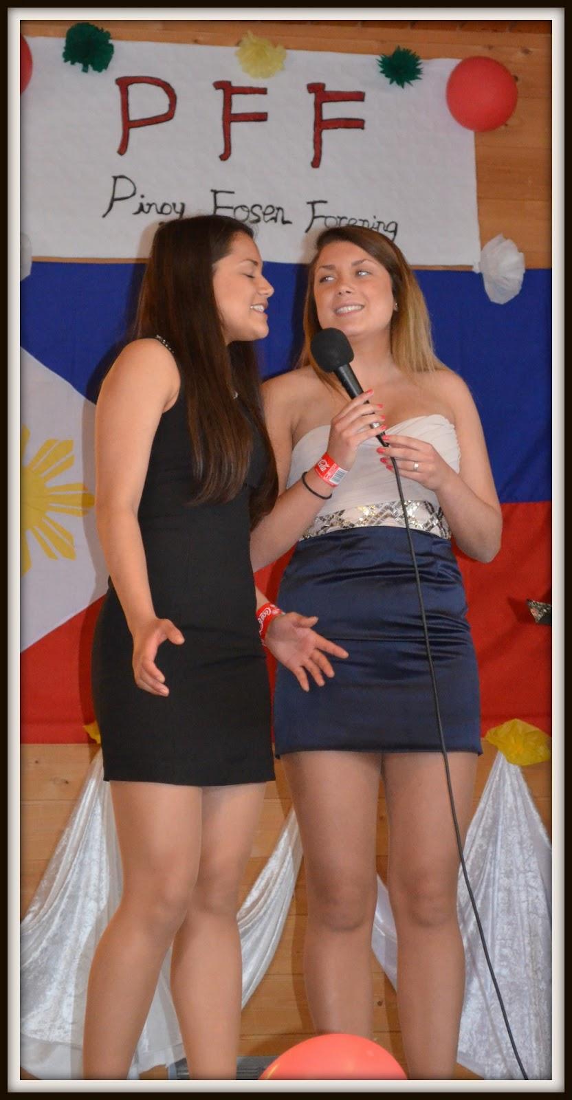 trekant filippinske jenter