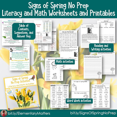 https://www.teacherspayteachers.com/Product/Signs-of-Spring-Literacy-and-Math-Worksheets-and-Activities-1154618?utm_source=Spring%20Resources%20Blog%20Post&utm_campaign=Signs%20of%20Spring%20Printables