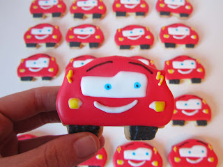 Galletas decoradas Cars