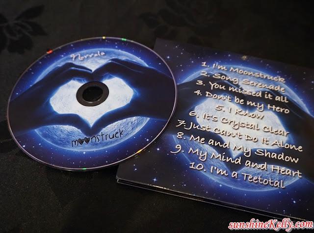 Moonstruck by Norrela, Moonstruck, Norrela Iznin Abd Ghan, singer, album launch, Andy Court, producer, local singer, local album launch, wow kl