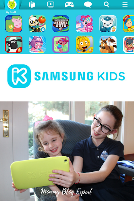 Samsung Kids Tablet Apps Review Giveaway