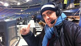 Serie A Sampodoria Lazio 1-2  cronaca De Angelis telecronisti tifosi video