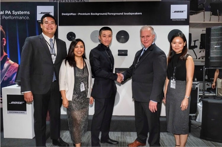 Bose Professional Taps Versatech as Official Distributor in PH