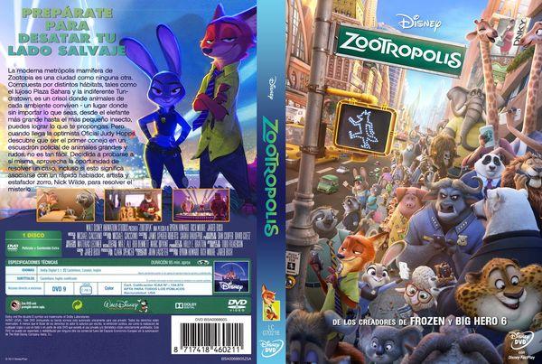Zootrópolis – Castellano, Inglés, Catalán, Portugués – DVD9