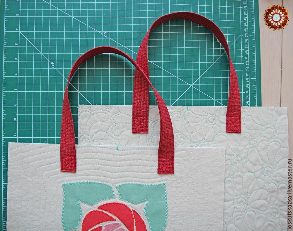 How to sew a Summer Bag with an application