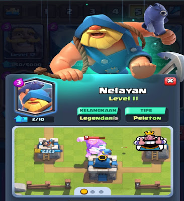 Mengenal Kartu Legendary Fisherman Clash Royale