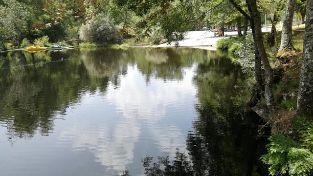 Rio Paiva e suas águas límpidas