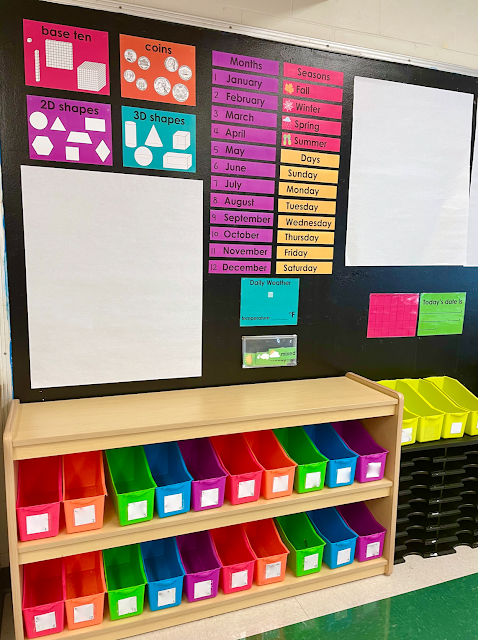 1st grade classroom meeting area
