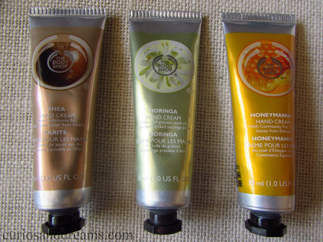 The Body Shop Hand Cream, The Body Shop Hand Cream review, TBS hand cream, TBS hand cream review