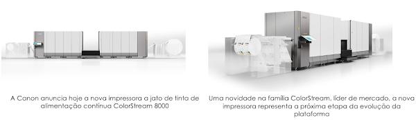 Aumentar a eficiência e acelerar o crescimento com a nova série Canon ColorStream 8000
