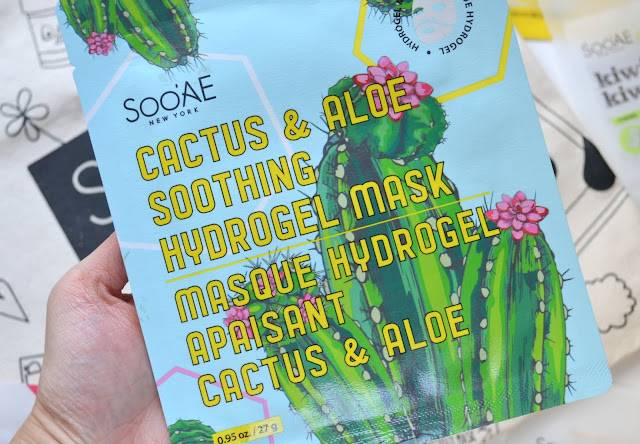 Soo'Ae Cactus and Aloe Soothing Hydrogel Mask