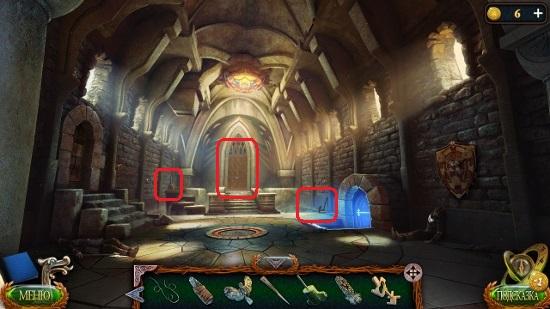 в замке центральный вход в игре затерянные земли 4 скиталец