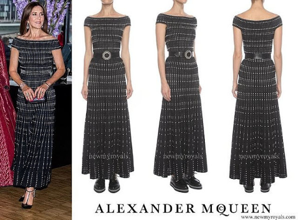 Princess Mary outfits, Alexander McQueen dress