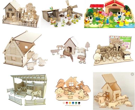مجموعة تصاميم ألعاب واكسسوارات أطفال بصيغة cdr