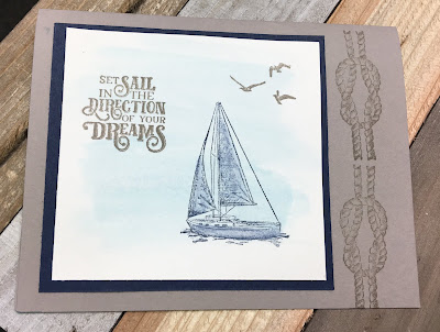 Stampin' Up!, Come Sail Away Suite, Sailing Home, 2019-2020 Annual Catalog, www.stampingwithsusan.com