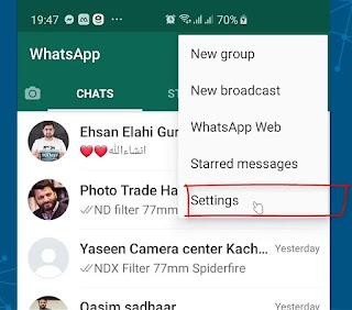 How To Setup Whatsapp Fingerprint Lock