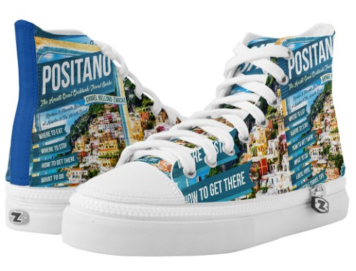 The POSITANO LIMITED EDITION SNEAKER