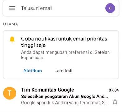 Cara Buat Akun Gmail Dari HP