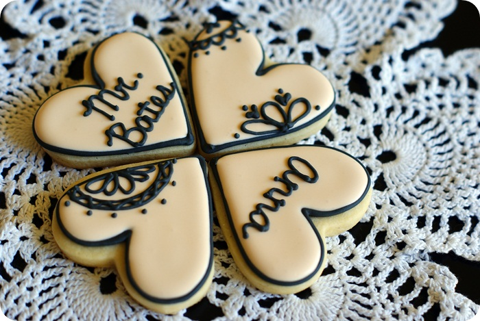 Downton Abbey decorated cookies