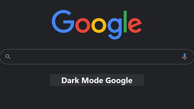 La recherche Google profite officiellement du Mode sombre - Dark Mode -.