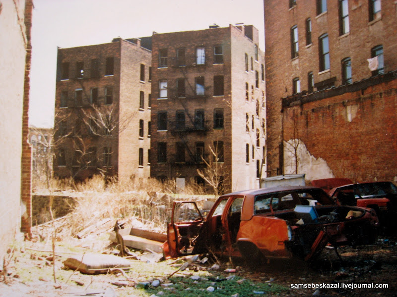 Pictures Of New York S Abandoned In The Early Of 1990s