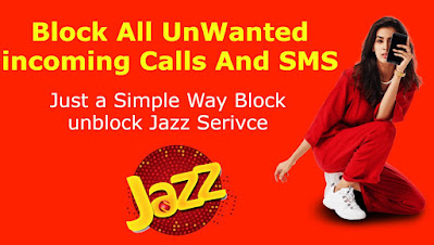 Jazz incoming call block code offer 2021
