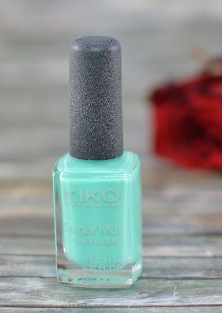 Kiko sugar mat nail laquer Mint