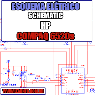 Esquema Elétrico Manual de Serviço Notebook Laptop Placa Mãe HP Compaq 6520s Schematic Service Manual Diagram Laptop Motherboard HP Compaq 6520s Esquematico Manual de Servicio Diagrama Electrico Portátil Placa Madre HP Compaq 6520s