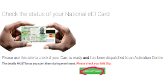 How to Check If Your NIMC card is Available in 4 steps