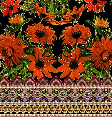 saree-border-print-design