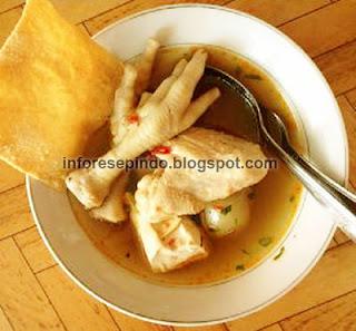 Resep Cilok Goang Kuah Pedas