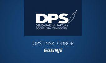 DPS Gusinje predložio Đukanovića za predsjednika partije