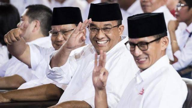 Direktur Median: Jika Prabowo tak Maju, Suara akan ke Anies dan Sandi