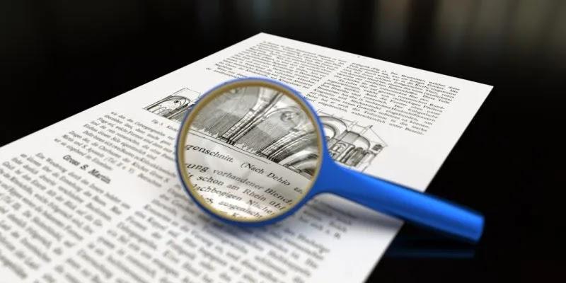 ميزة الكشف عن السرقة الأدبية