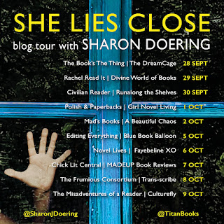 List of blog tour dates for book