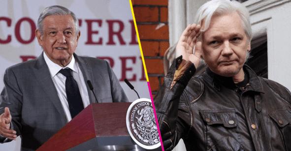 AMLO pide a #ReinoUnido que libere a Julian #Assange y le ofrece asilo político