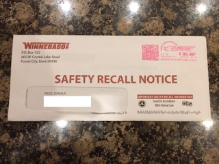 Winnebago Recall Notice