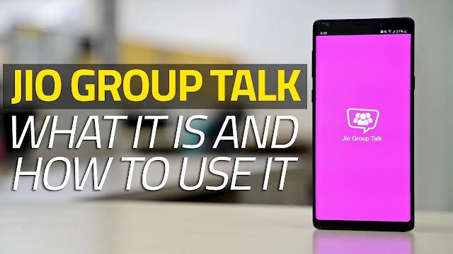 Jio Group Talk cover