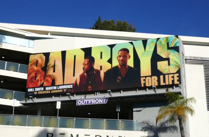 Bad Boys For Life movie billboard