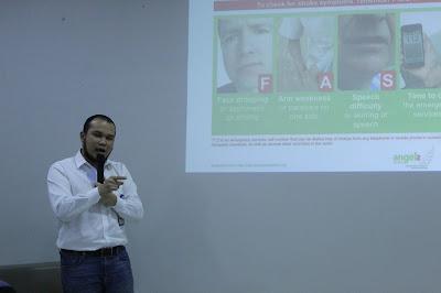 "dr. Alvin Abrar Harahap ""Anak Muda Jangan Santuy, Kenali Stroke Hemoragik secara dini"""
