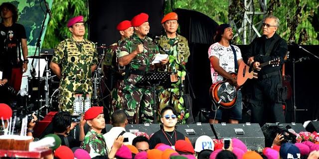 Saat Panglima TNI kutip Presiden Soekarno untuk nasihati mahasiswa