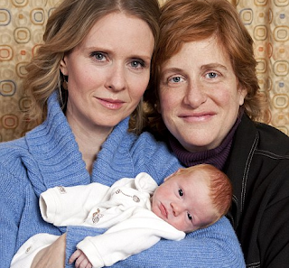Image: Cynthia Nixon, 44, Welcomes a Son