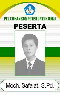Contoh ID Card dengan Microsoft Word